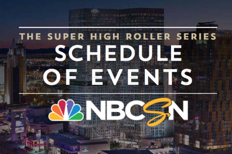 Super High Roller Bowl Celebrity Shootout To Air On NBC Sports in Less Than Two Weeks