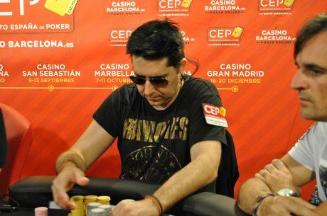 Alfredo Sangrós domina el CEP A Coruña por segundo día