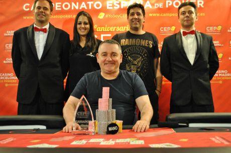 Javier Sanjuan gana la cuarta parada del CEP 2015