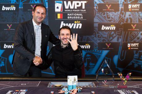 Francouz Laurent Polito ukořistil již čtvrtý titul během dvou let na World Poker Tour...
