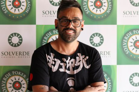 Carlos Esperança e Nuno Andrade Lideram Dia 1 Etapa 7 Solverde Poker Season