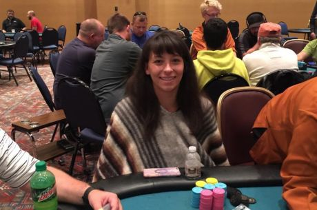 2015 MSPT Meskwaki Day 1b: Angelina Rich Bags Day 1b Lead