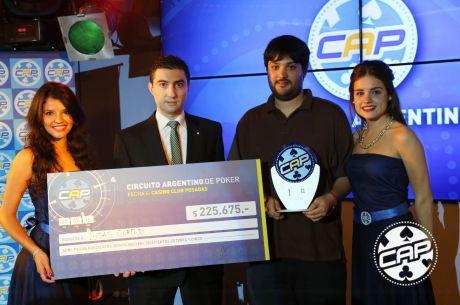 Lucas Cortijo sumó su segundo título del CAP; Es el cuarto jugador en conseguirlo