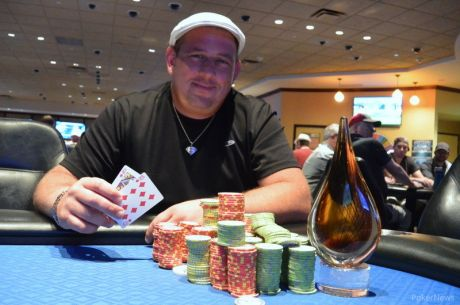 North Tonawanda's Joseph D'Antuono Wins Event #3 of 2015 Seneca Niagara Summer Slam