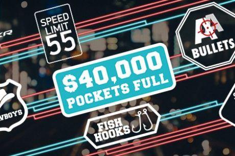 Спечели до $5,000 всяка седмица в  $40,000 Pockets Full играта на...