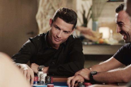 Cristiano Ronaldo Grava Anúncio para a PokerStars