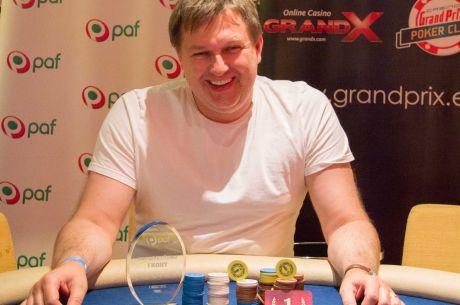 Paf Live Pärnu avaturniiri võitis kolmekordne Eesti pokkerimeister Henri Käsper
