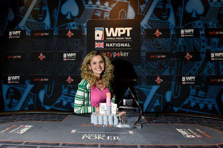 Irina Nikolaidi Becomes the 2015 partypoker WPTNUK London Champion