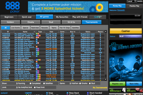 888poker Raises Tournament Guarantees by $100,000 Across the Board