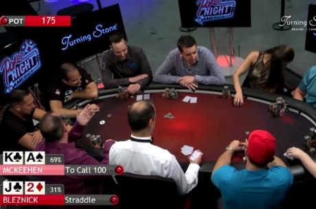 Poker Night in America - Em Prova estão Jared Bleznick, Shaun Deeb e o Chip Leader do ME WSOP...