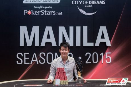 2015 PokerStars.net APPT Manila: Aaron Lim Wins Unprecedented Second APPT Title