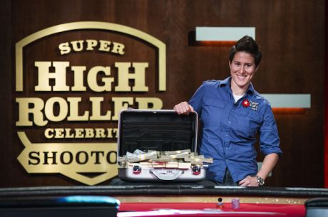 Победа и $1 милион за Vanessa Selbst в Super High Roller Celebrity Shootout