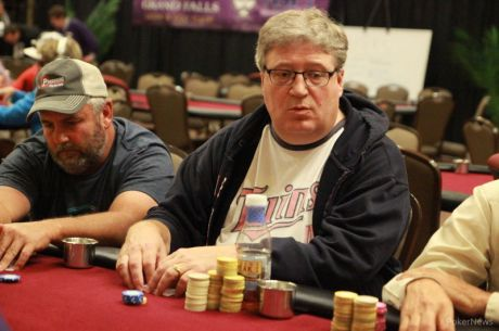 2015 MSPT Grand Falls Day 1a: Hodge Primed for POY Points, but Curl Leads