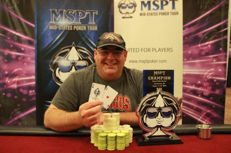 Alan Curl Captures Mid-States Poker Tour Grand Falls Main Event Title and $65,000