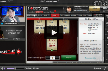 Watch Jason Somerville Turn $100 into $2,500 in Less Than Ten Minutes