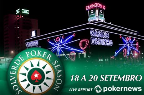 Solverde Poker Season: Calendário de Satélites ao Vivo da Etapa 8