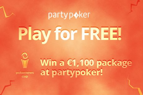 Win One of Four €1,100 PokerNews Cup Packages For Free at partypoker