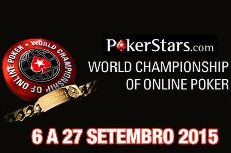 WCOOP 2015 - 6 a 27 de Setembro na PokerStars e com Alguns Lusos em Jogo