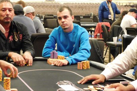 2015 River Poker Series Main Event Day 1b: Cord Garcia Seizes Overall Chip Lead