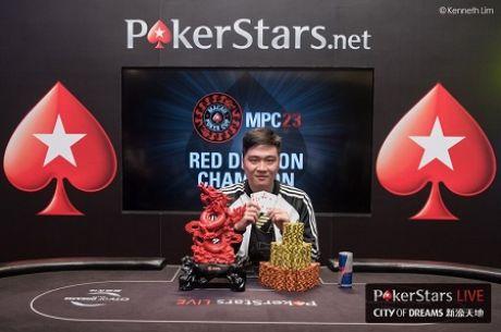 Yue Feng Pan vítězem osmého titulu Red Dragon; ukořistil výhru v MPC23 za $272,000