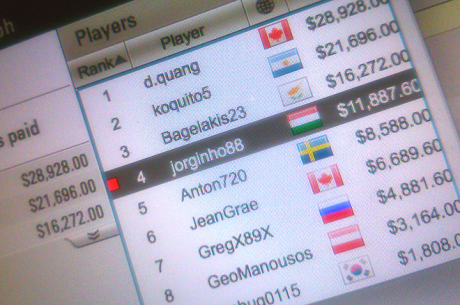 Jorginho Abreu 4º no Big $109 ($11,8k) & Michel Dattani 2º no Hot $33 ($5k)
