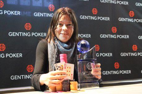 Pia Jeppesen Wins the 2015 Genting Poker Series Stoke Main Event