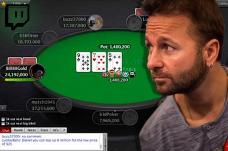 Volg het $51.000 WCOOP toernooi vanavond vanaf 19:00 via Daniel Negreanu's Twitch-kanaal