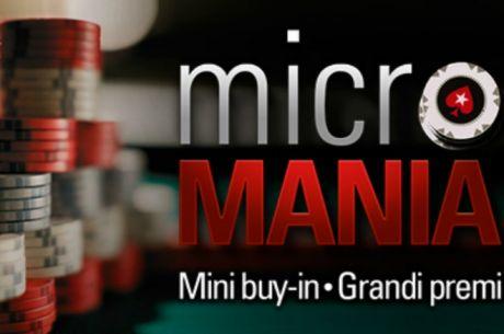 Su PokerStars Arriva la Micro Mania: si Vince Con Pochi Centesimi