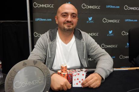 Levon Torosyan Scores $110,000 Win in Commerce Poker Series Main Event