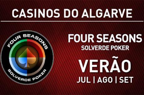 Calendário Semanal e Novidades na Four Seasons Solverde Poker Algarve