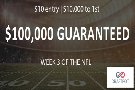 Daily Fantasy with NO Salary Cap: Win $10,000 for Just $10 On DraftPot This Weekend