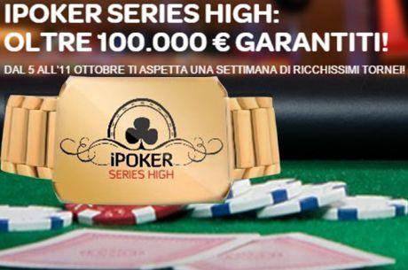 Una Settimana di Grandi Tornei e Ricchi Premi su Sisal Poker