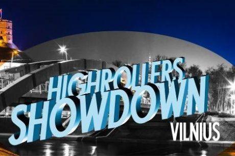 """""""High Rollers Showdown Vilnius"""" - skelbiamos atrankinių turnyrų datos"""