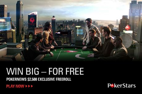 Need Free Money? Check Out This $2,500 Freeroll at PokerStars!