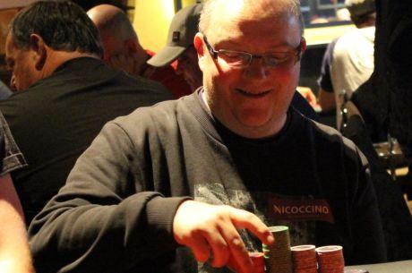 Stephen Fenton Bags Up 2015 GPS Edinburgh Day 1c Chip Lead