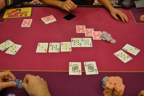 The Weekly PokerNews Strategy Quiz: A Series of Three-Way All-Ins