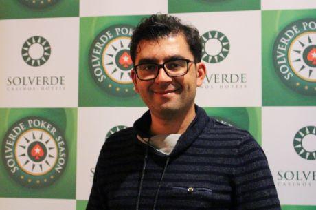 "Luis ""Hormonas"" Henriques Lidera Dia 1 Etapa 9 Solverde Poker Season"