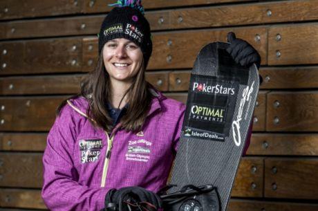 PokerStars спонсорира олимпийската сноуборд медалистка...