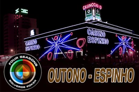 Four Seasons Solverde Poker Outuno Até 17 de Dezembro no Casino de Espinho