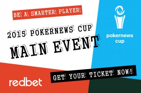 Win The 2015 PokerNews Cup Main Event at Redbet Poker