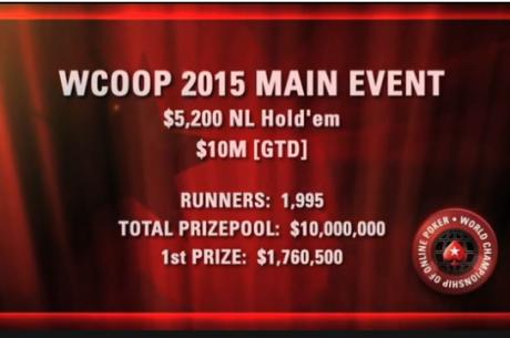 ВИДЕО: Най-интересното от финалната маса на WCOOP 2015 Main...