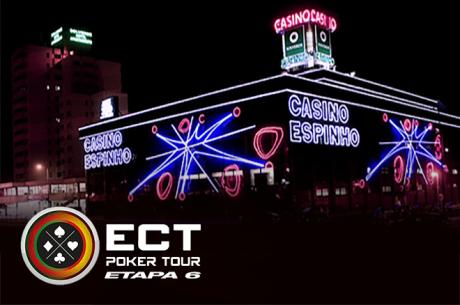 Etapa 6 ECT Poker Tour 16 a 18 de Outubro em Espinho