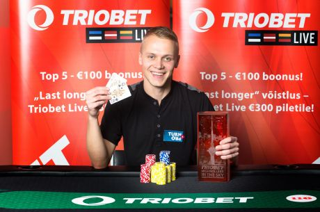Triobeti highroller-turniiri lõpetas õpetaja ning õpilase duell