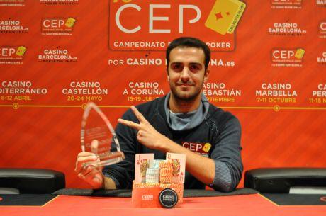"""José María """"echepoker"""" Echevarne campeón del CEP Mabella 2015 por 14.950€ tras..."""