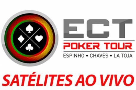 Satélites Etapa 6 ECT Poker Tour Até 15 de Outubeo em  Espinho