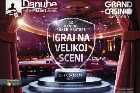 Uskoro Počinje Jubilarni Danube Poker Masters; Po Prvi Put Live Prenos FT Main Eventa