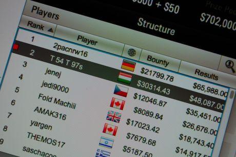 Tomás Paiva Foi Segundo no Thursday Thrill ($78.901)