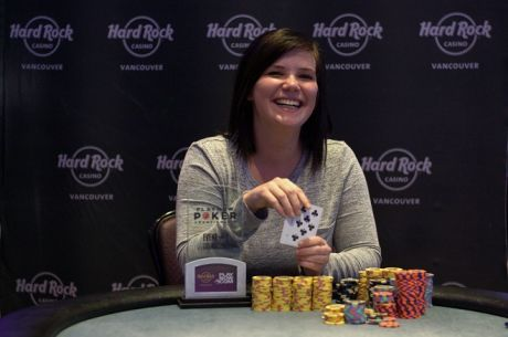 Brianne Murphy is the Women's PlayNow Poker Champion