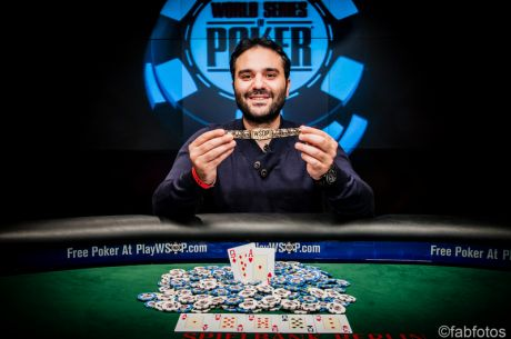 Pavlos Xanthopoulos Wins Greece's Second WSOP Bracelet of the Week and All-Time