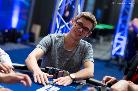 "2015 WSOP Europe 888 Hand of the Day: Fedor ""CrownUpGuy"" Holz Felts The Champ"